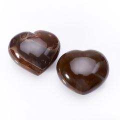 Сердечко яшма пестроцветная Мадагаскар (6 см) 1 шт