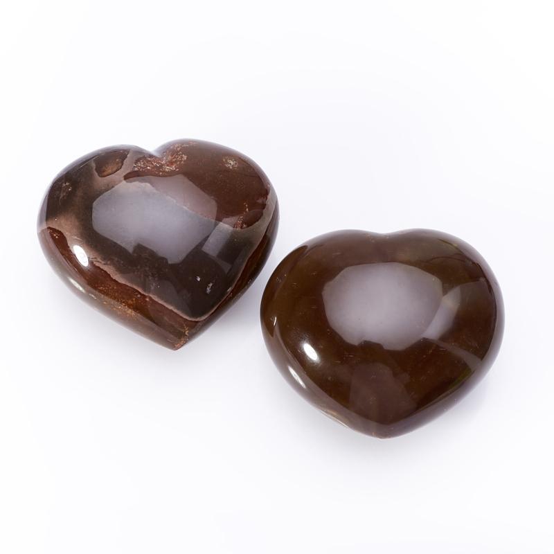 Сердечко яшма пестроцветная (6 см) 1 шт образец яшма 5 6 см 1 шт