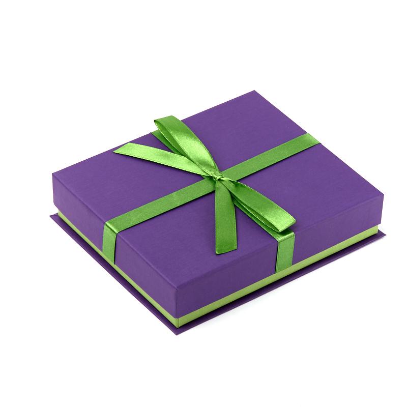 Подарочная упаковка под колье (коробка) 165х140х35 мм