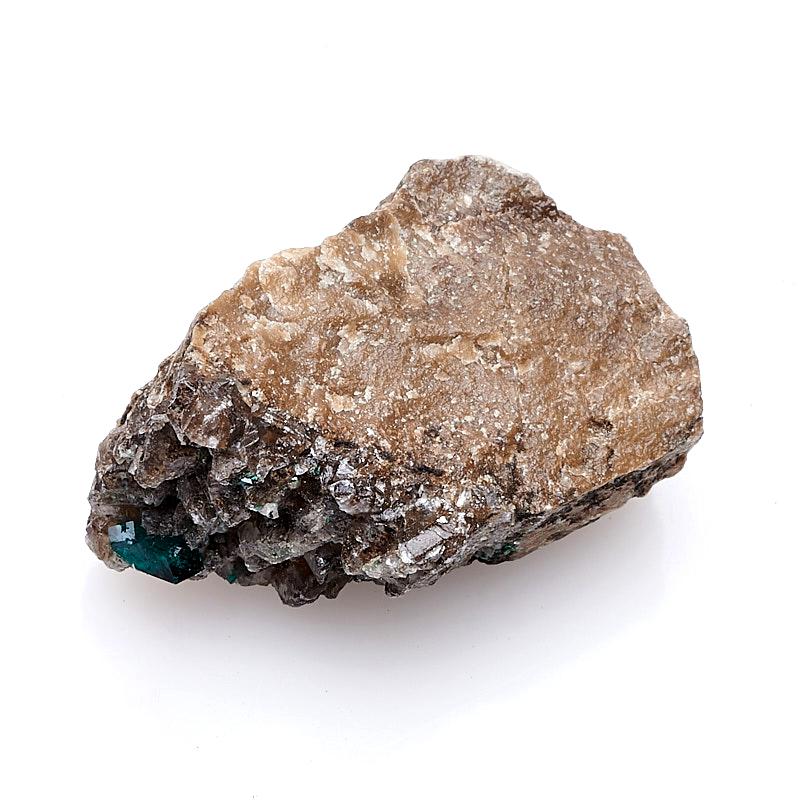 Образец диоптаз Казахстан (в породе) (2-2,5 см) (1 шт)