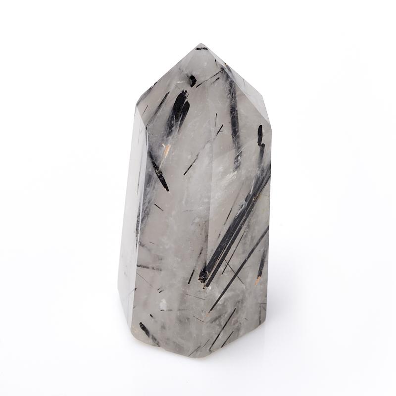 Кристалл кварц с турмалином S