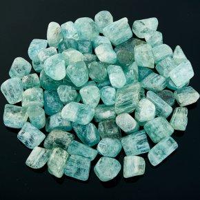 Аквамарин галтованный кристалл  Шерловая Гора от 1-1,5 см 1 шт.