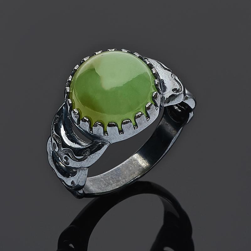 Кольцо нефрит зеленый (серебро 925 пр.) размер 18 кольцо нефрит зеленый серебро 925 пр размер регулируемый