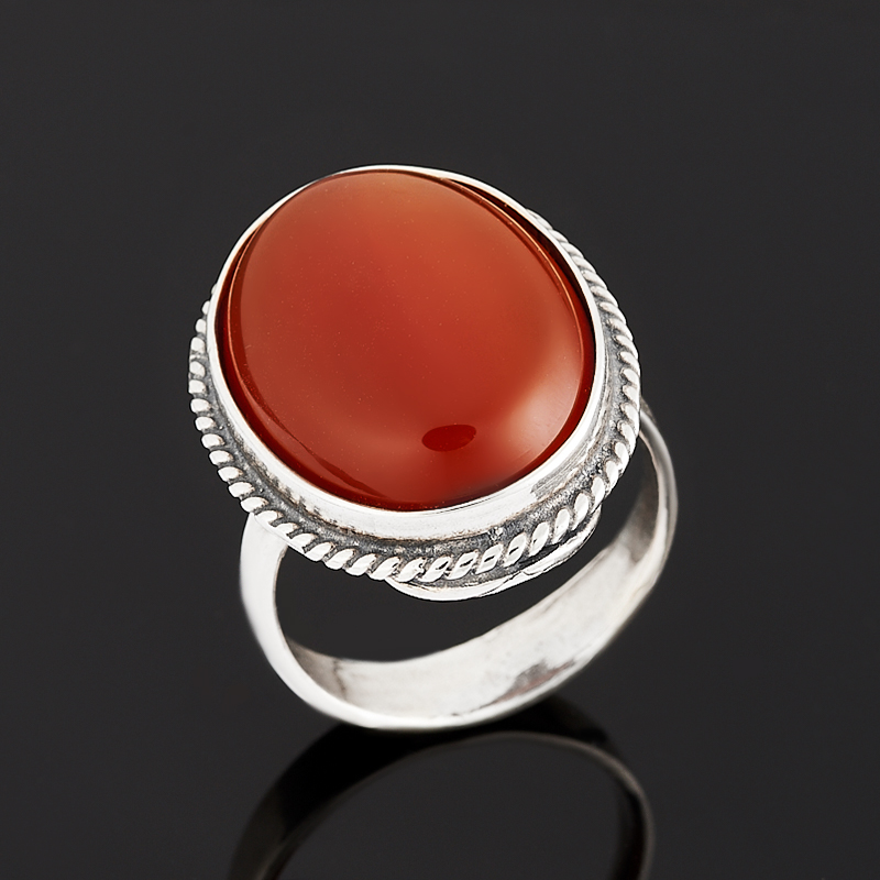 Кольцо сердолик (серебро 925 пр.) размер 17 кольцо сердолик серебро 925 пр размер 16 5