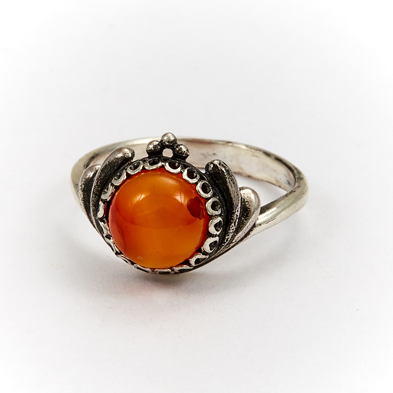 Кольцо сердолик (серебро 925 пр.) размер 16,5 кольцо сердолик серебро 925 пр размер 20