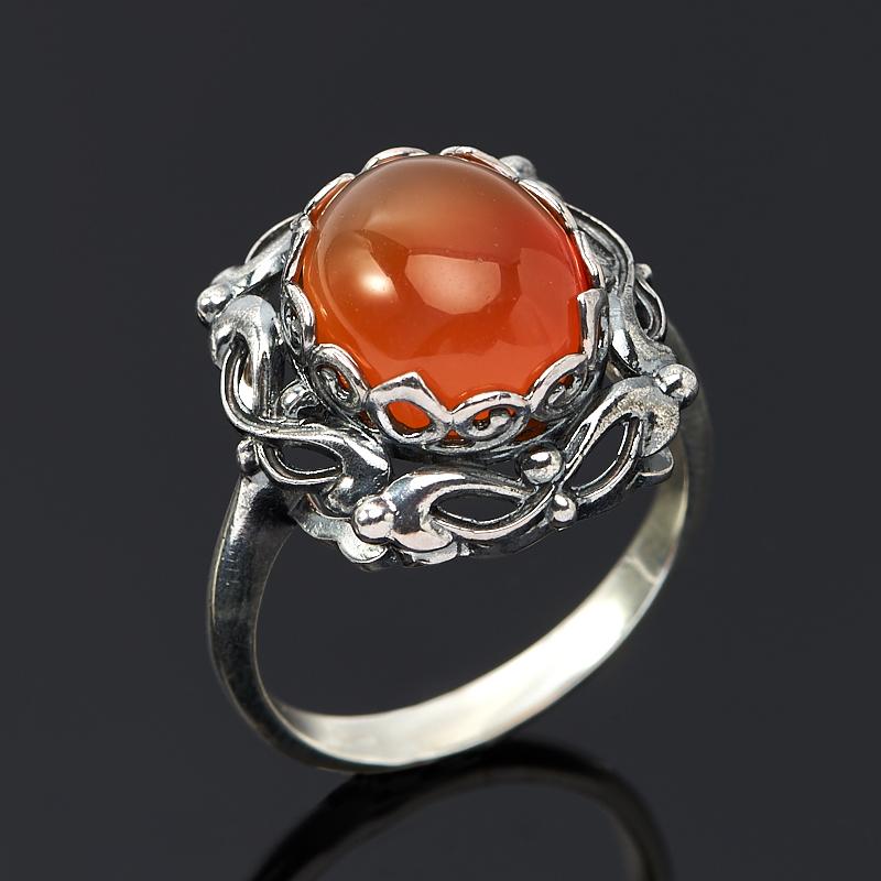 Кольцо сердолик (серебро 925 пр.) размер 17 кольцо сердолик серебро 925 пр размер 20