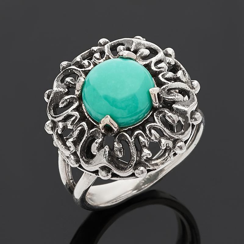 Кольцо бирюза Тибет (серебро 925 пр.) размер 19