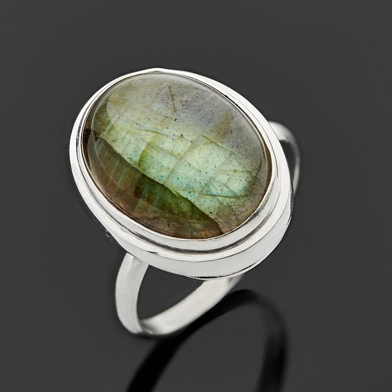 Кольцо лабрадор (серебро 925 пр.) размер 18 кольцо женское jenavi виконт решимость цвет серебро черный h4663060 размер 18