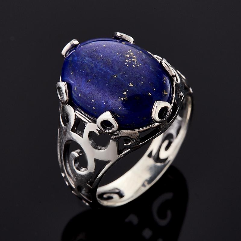 Кольцо лазурит (серебро 925 пр.) размер 18 кольцо женское jenavi виконт решимость цвет серебро черный h4663060 размер 18
