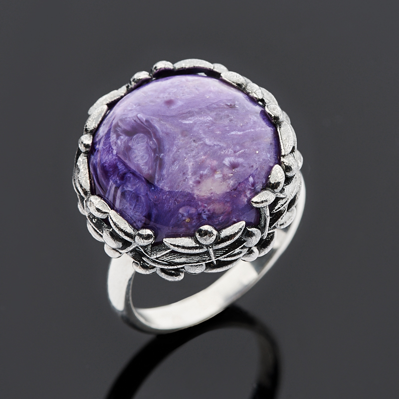 Кольцо чароит (серебро 925 пр.) размер 18,5 кольцо other 925 925 r001
