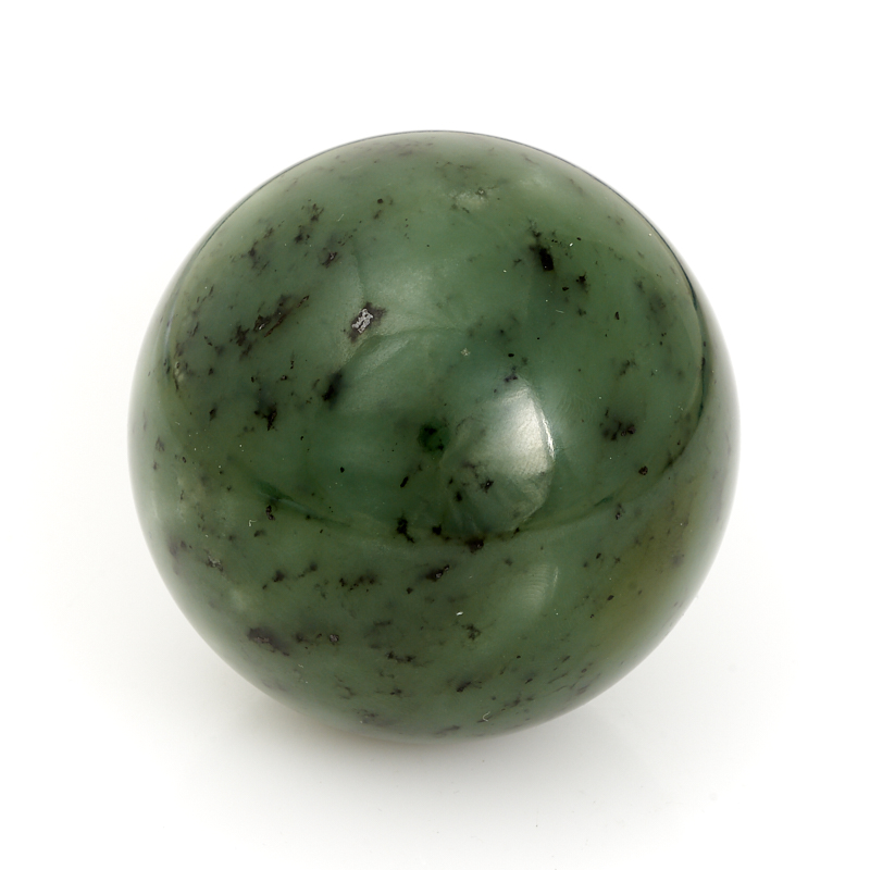Шар нефрит зеленый 6 см елочная игрушка нефрит зеленый 5 см