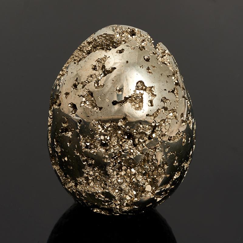 Яйцо пирит 7 см мр 28 7 подвеска яйцо собака