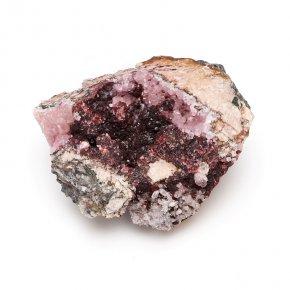 Образец розелит с кальцитом Марокко M