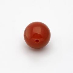Бусина сердолик Ботсвана шарик 10-10,5 мм (1 шт)
