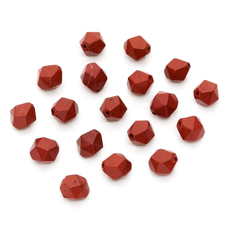 Бусина яшма красная 8*10 мм (1 шт) цена