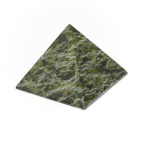 Пирамида змеевик Россия 7 см