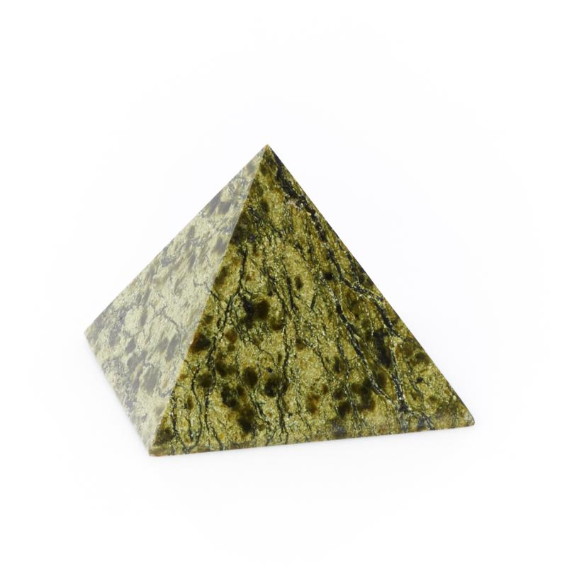 Пирамида змеевик Россия 6 см