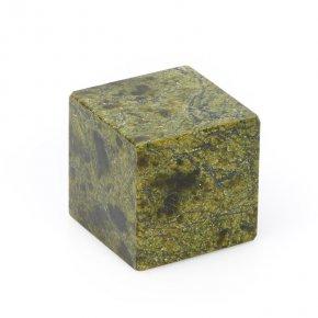 Куб змеевик Россия 3 см