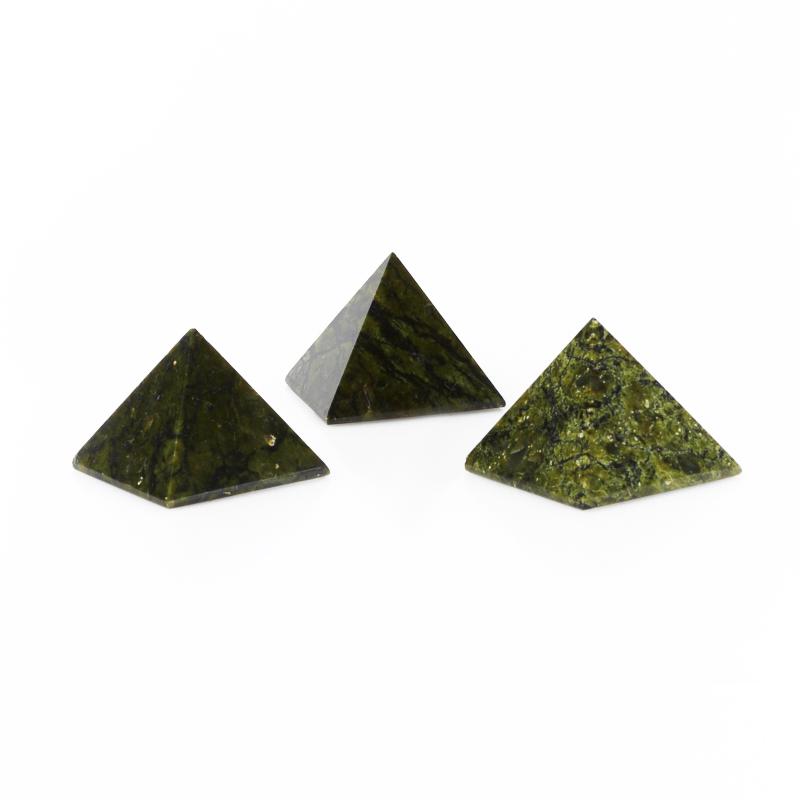 Пирамида змеевик Россия 3 см