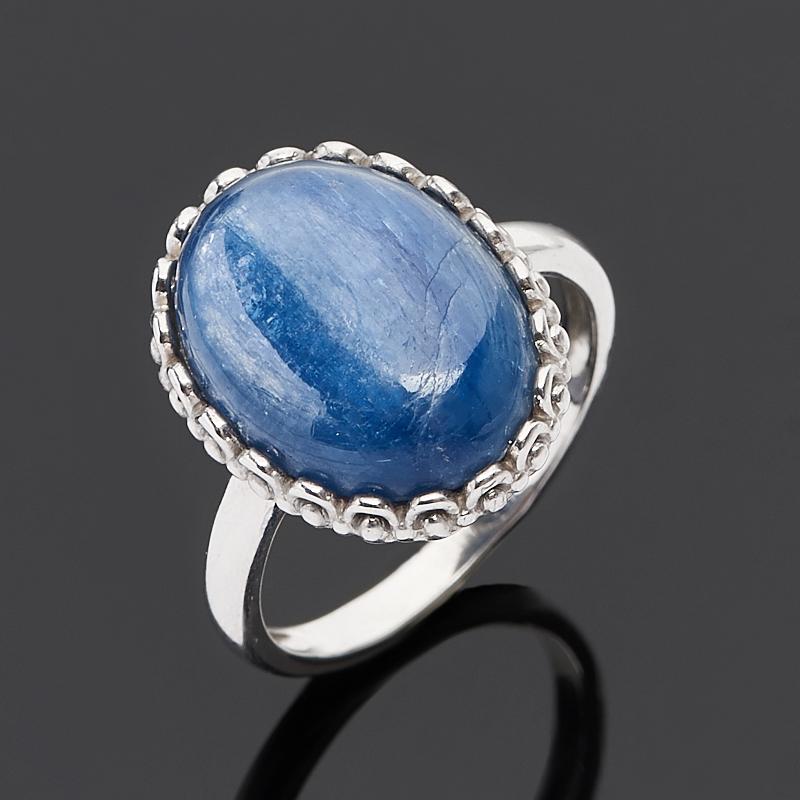 Кольцо кианит синий (серебро 925 пр.) размер 16,5