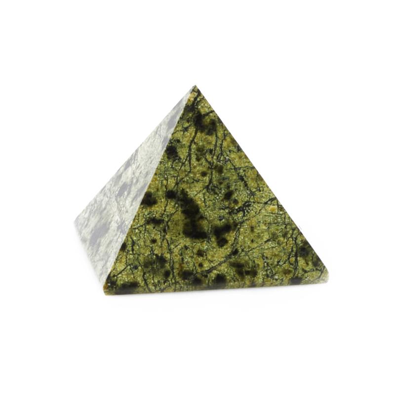 Пирамида змеевик Россия 4,5 см