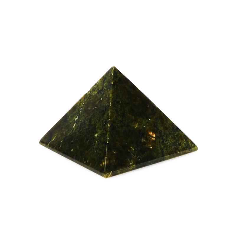 Пирамида змеевик 3,5 см цена и фото