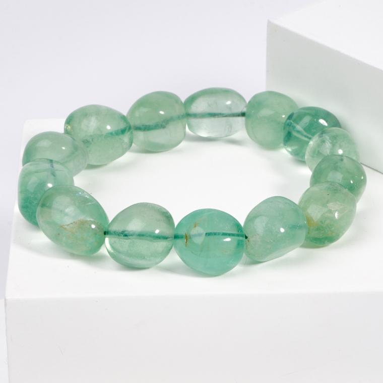 Браслет флюорит зеленый 16 см chkj зеленый смарт браслет