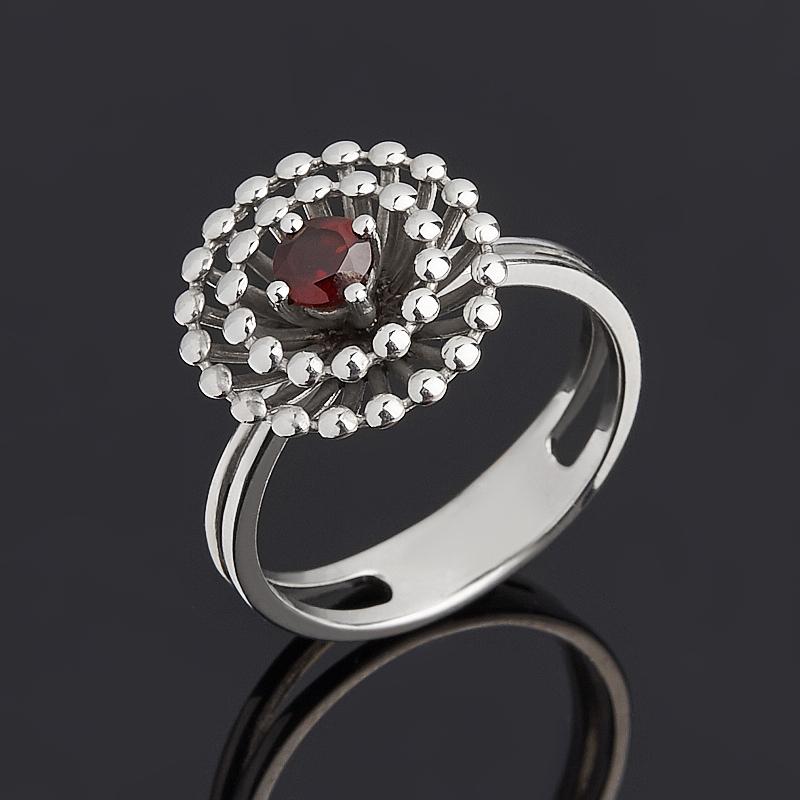 Кольцо гранат альмандин огранка (серебро 925 пр.) размер 17 кольцо гранат серебро 925 пр размер 17