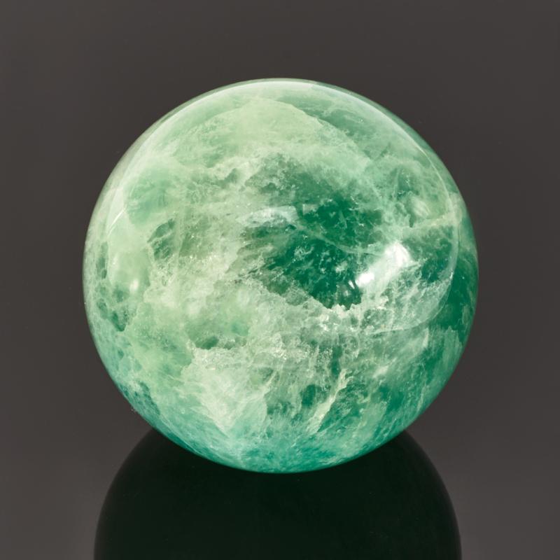 Шар флюорит зеленый 7,5 см
