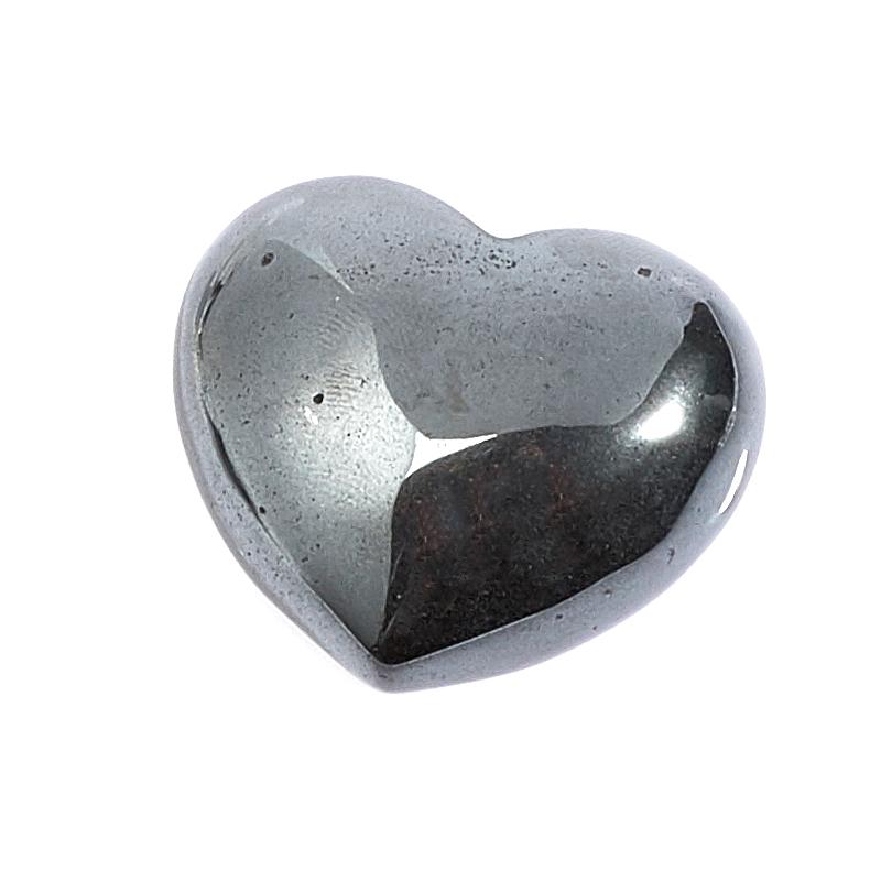Сердечко гематит 3 см