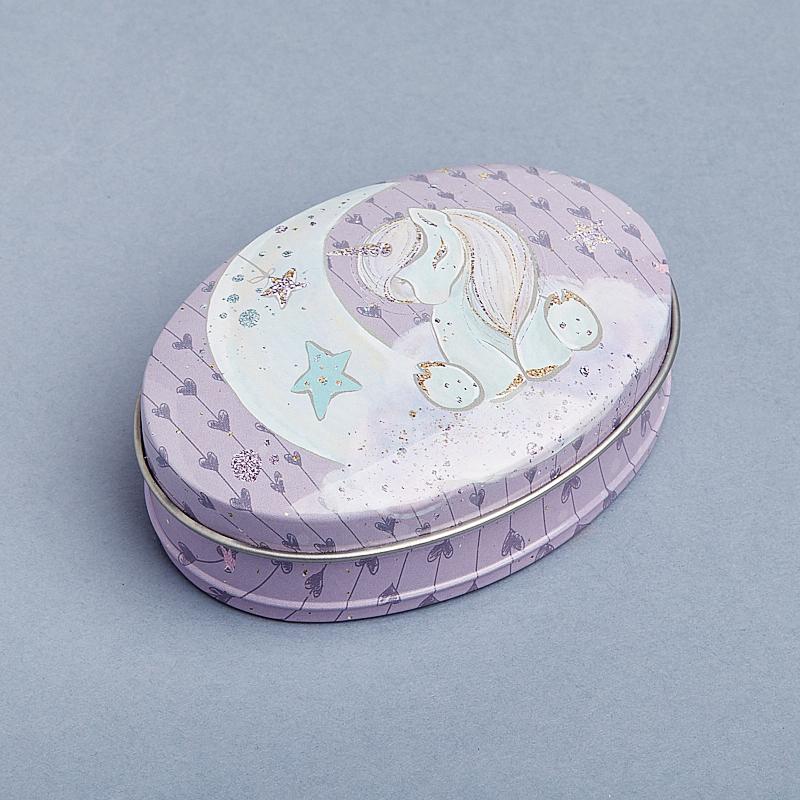 Шкатулка для хранения камней / украшений 8,5х6х2,5 см