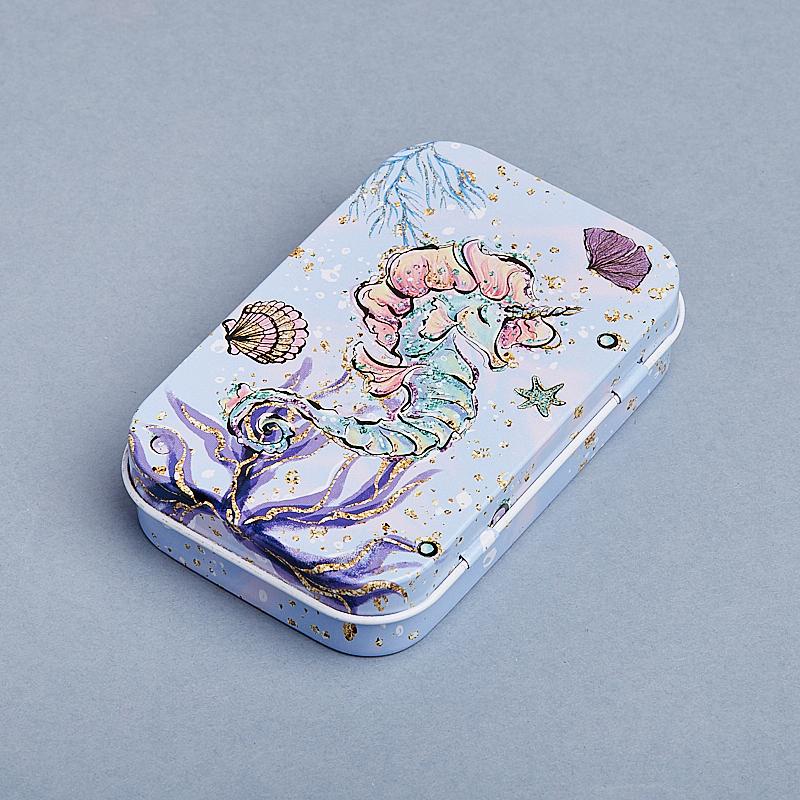 Шкатулка для хранения камней / украшений 9,5х6х2 см