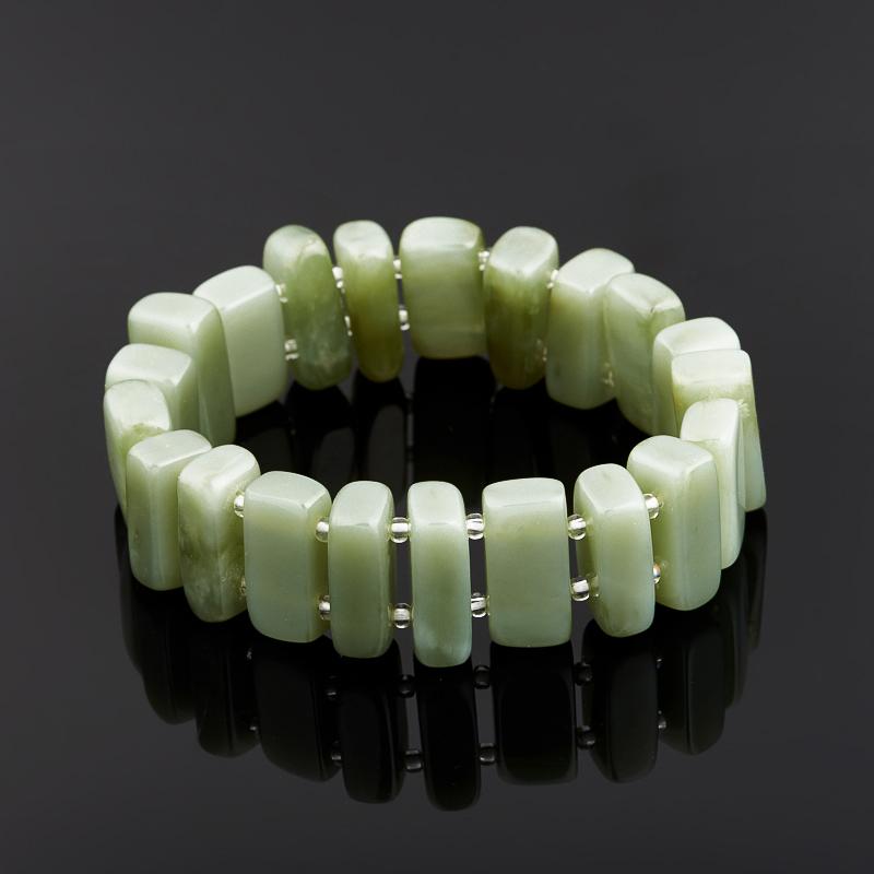 Браслет нефрит зеленый 15 см chkj зеленый смарт браслет