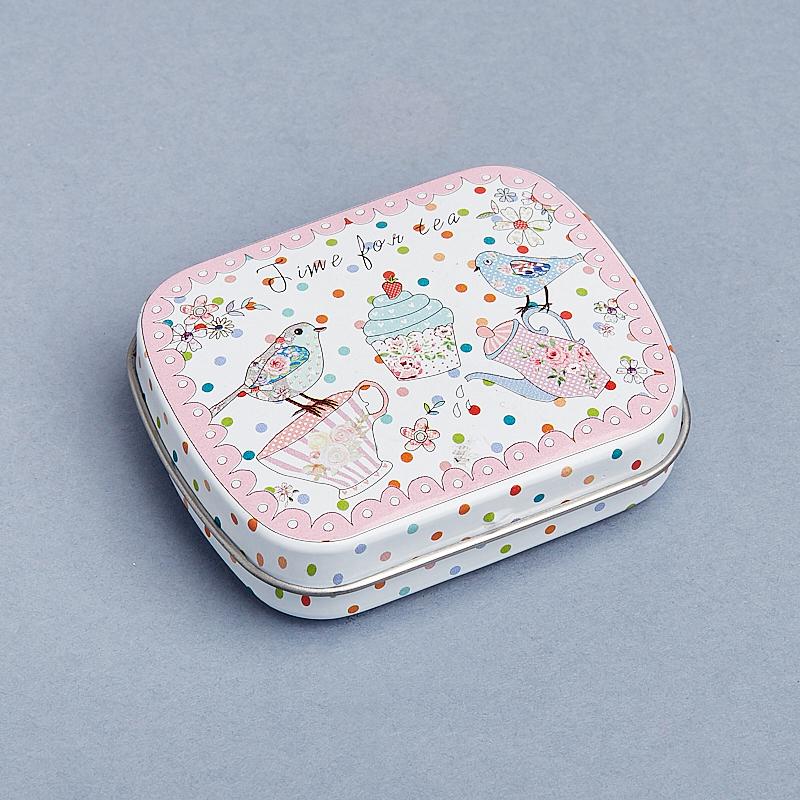 Шкатулка для хранения камней / украшений 6х4,5х1,5 см