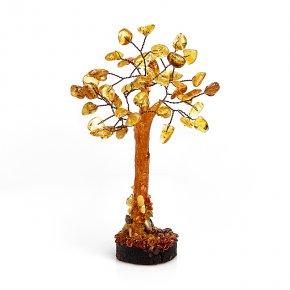 Дерево счастья янтарь Россия 17 см