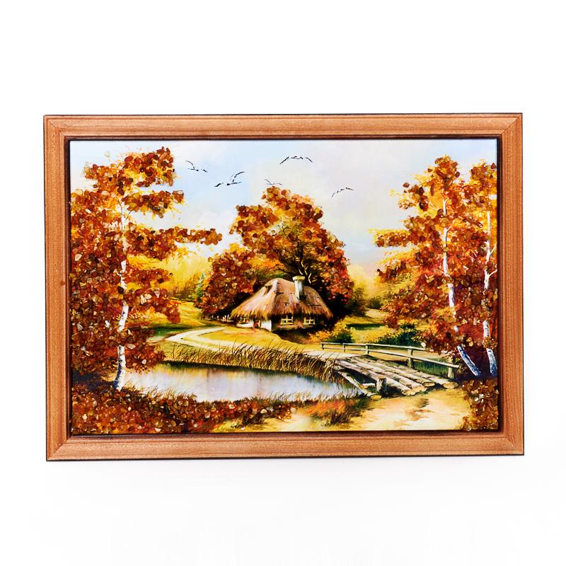 Картина Природа янтарь 21х30 см фоторамка деревянная fiona 21х30 см черная