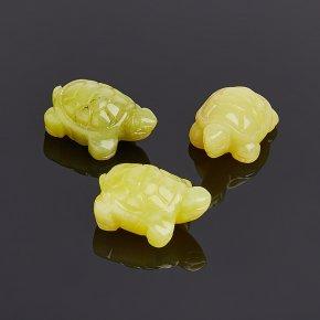 Черепаха кальцит желтый 2,5-3 см