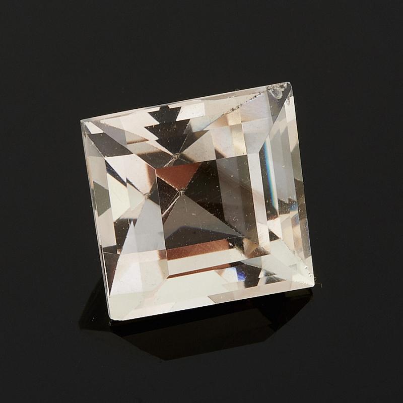Огранка раухтопаз (дымчатый кварц)  квадрат 9*9 мм 4,0 карат от Mineralmarket