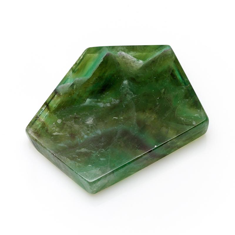 Срез флюорит зеленый S gangxun зеленый цвет s