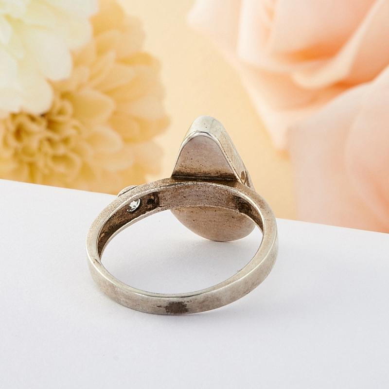 Кольцо бирюза США (серебро)  размер 17