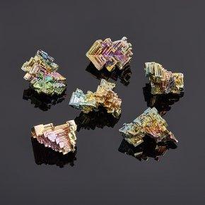 Кристалл висмут лабораторный Германия (2,5-3 см) 1 шт