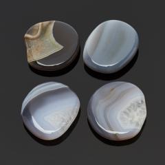 Галтовка агат серый Ботсвана S (4-7 см) (1 шт)