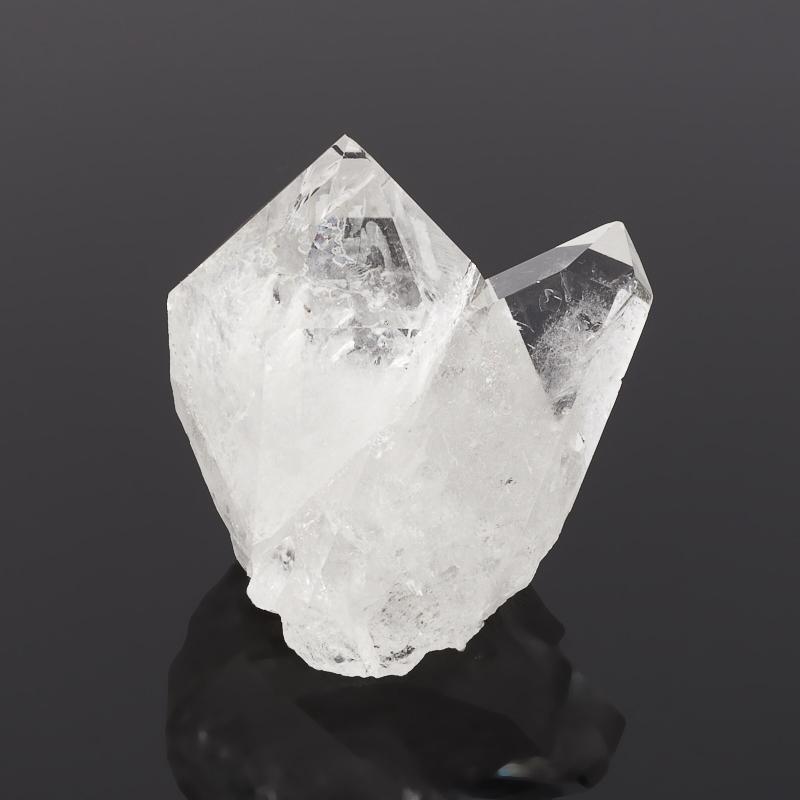 Кристалл горный хрусталь Бразилия (сросток) S