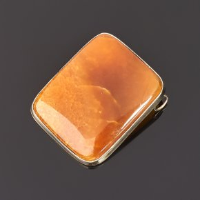 Кулон симбирцит Россия прямоугольник (нейзильбер) 4,5 см