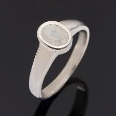 Кольцо лунный камень Индия огранка (серебро 925 пр.) размер 18