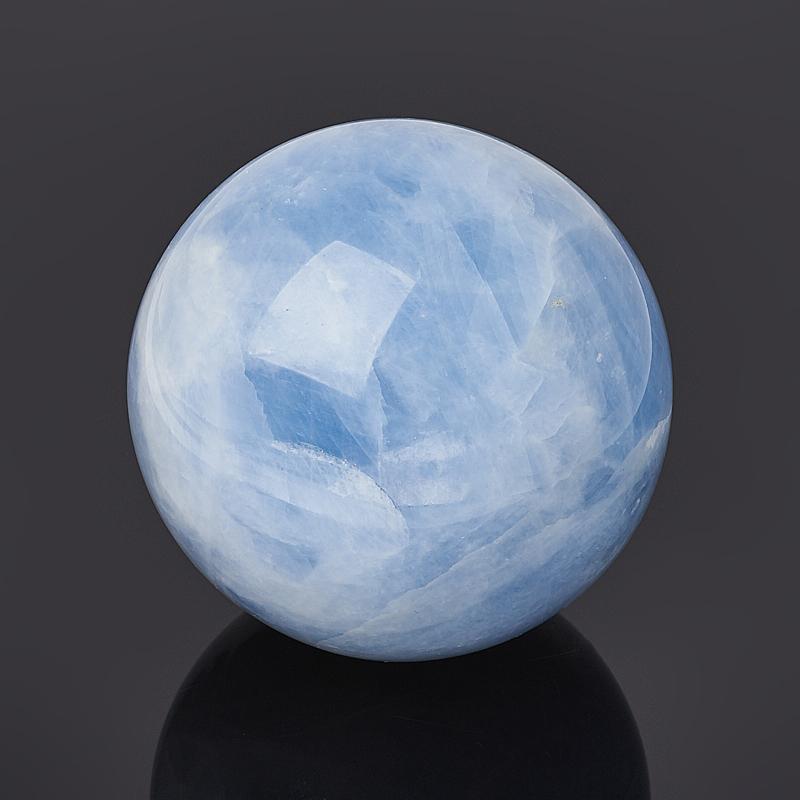 Шар кальцит голубой 7 см кальцит голубой 4 5 см 1 шт