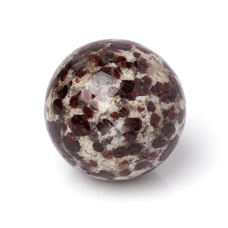 Шар гранат альмандин 5,5 см