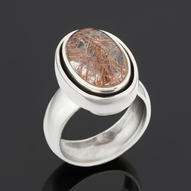 Кольцо рутиловый кварц (серебро 925 пр.) размер 18 стоимость