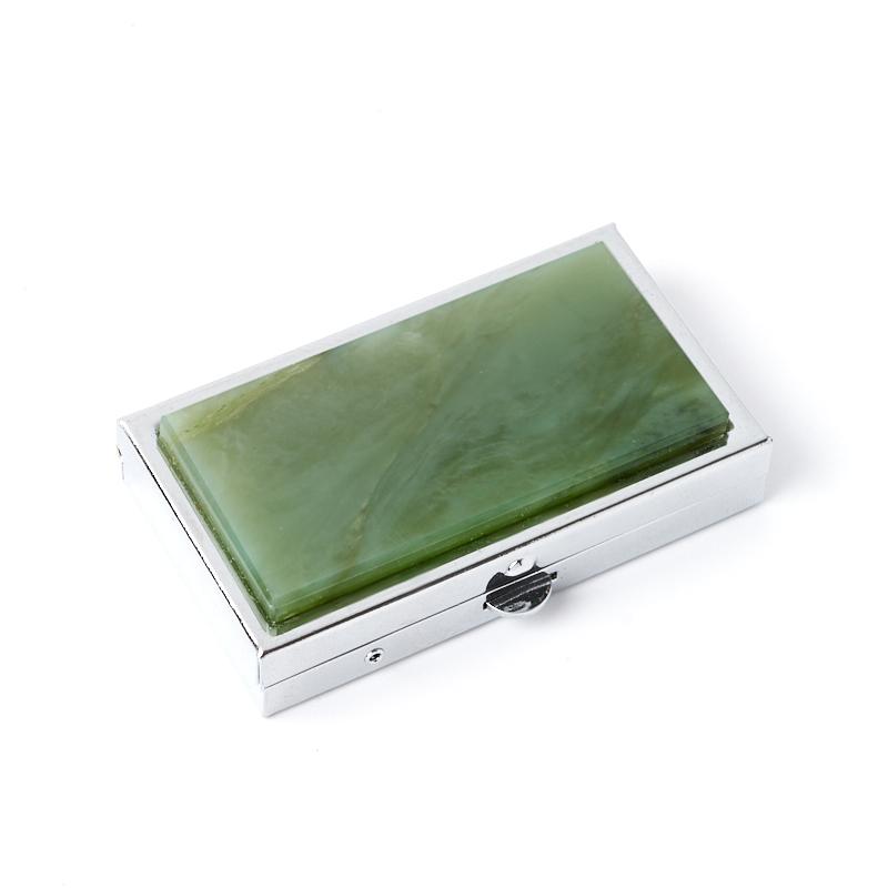 Таблетница нефрит зеленый 3х5,5 см таблетница тетрис homsu таблетница тетрис
