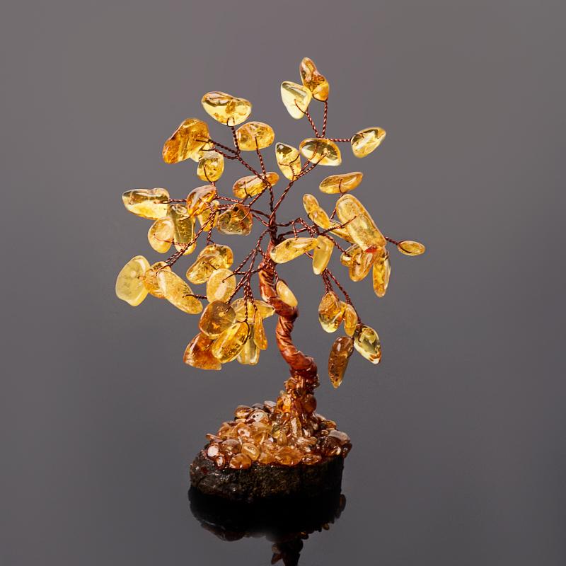 Дерево счастья янтарь пресс 15-17 см